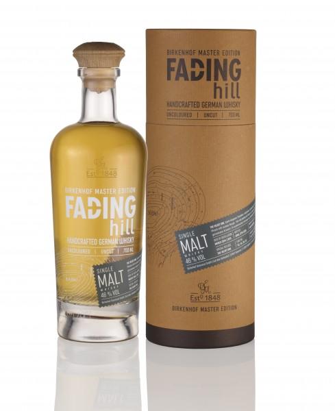 Birkenhof Fading Hill Single Malt Whisky 0,7l 46% in Geschenkpackung