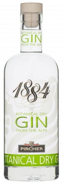 """Pircher Botanical Dry Gin 1884 """"from the Alps"""" 0,7l 42%"""