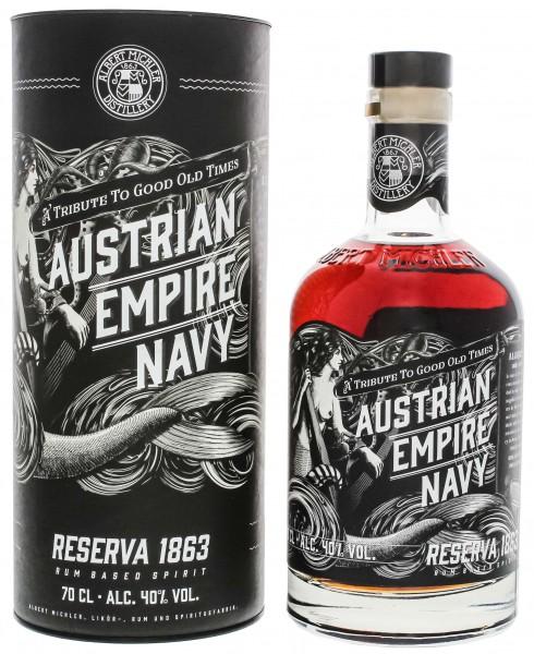 Austrian Empire Navy Rum Reserva 1863 0,7L in GP
