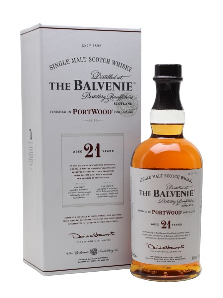Balvenie 21 years Port Wood Speyside Malt Whisky 40% 0,7l