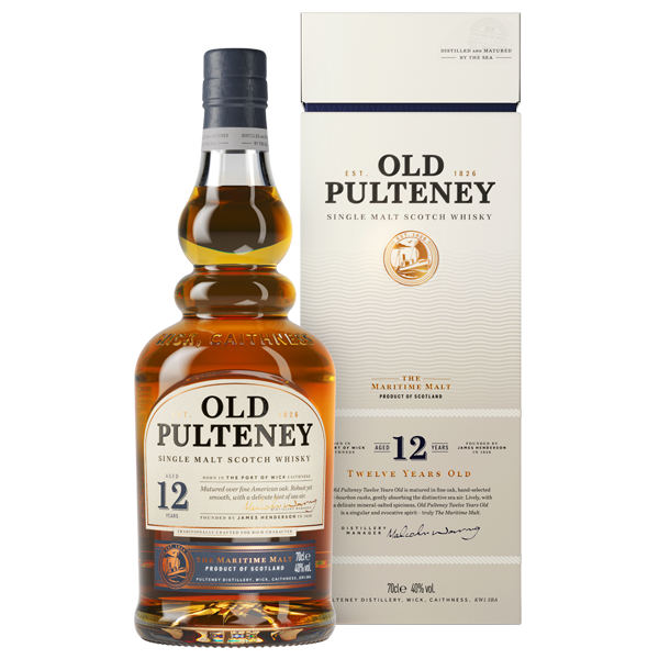 Old Pulteney · 12 Years · 40% vol