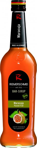 Riemerschmid Bar-Sirup Maracuja 0,7l