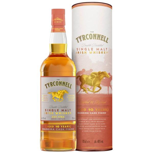 The Tyrconnell 10 Jahre Madeira Cask Single Malt Irish Whiskey 46% 0,7l