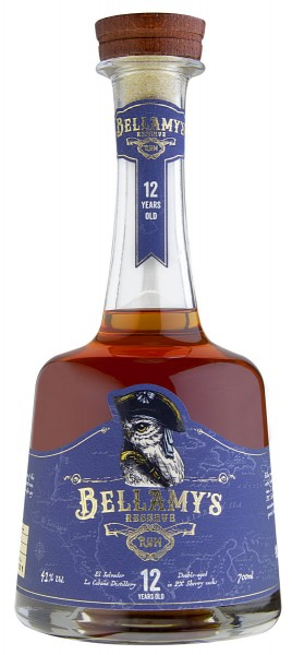 Bellamy's Reserve Rum 12 Years Old El Salvador PX Sherry Cask Finish
