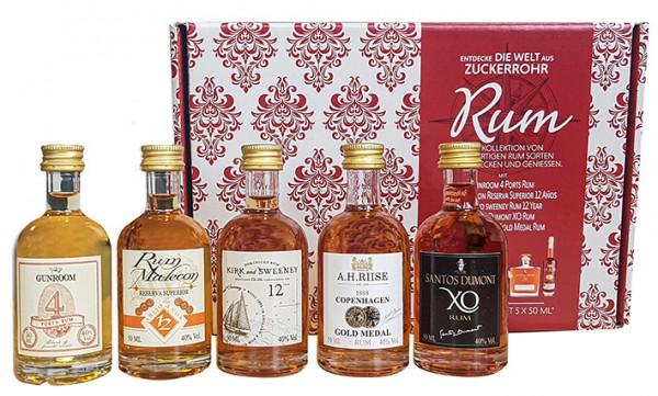 Rum Set-Entdecke die Welt in Geschenkpackung