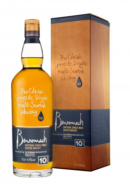 Benromach 10 years old 43% vol.