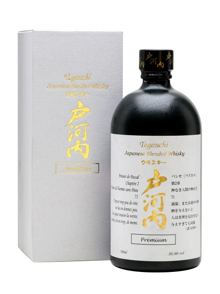 Togouchi Premium Japanese Blended Whisky 0,7l 40%