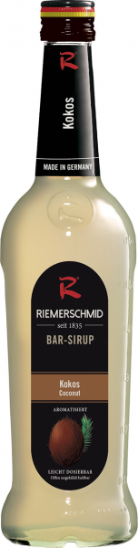 Riemerschmid Bar-Sirup-Kokosnuss 0,7l