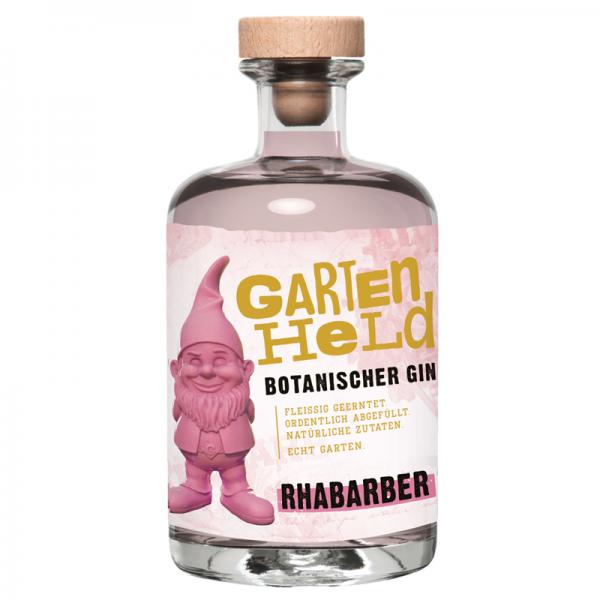 Gartenheld Botanischer Gin Rhabarber 0,5l 37,5%