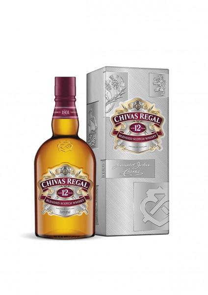 Chivas Regal 12 Jahre Blended Scotch Whisky 0,7l 40%