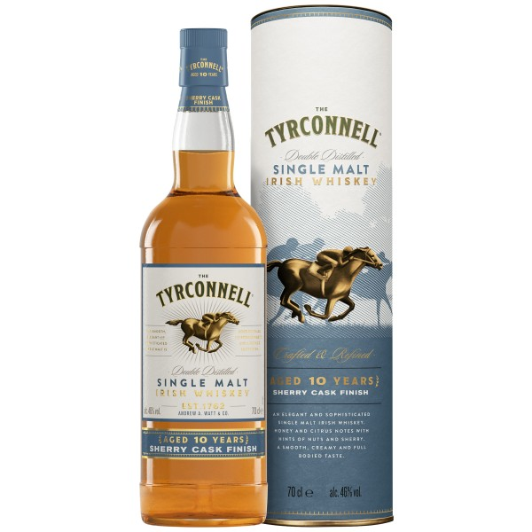 The Tyrconnell 10 Years Sherry Cask 0,7l 46%