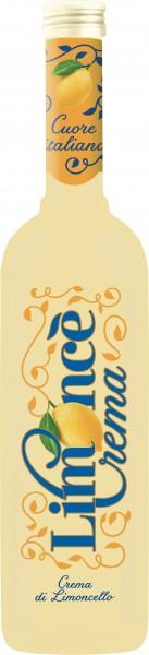 Limonce Crema Sahnelikör mit Zitronengeschmack 17% vol. 500ml