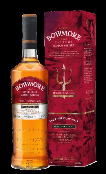 Bowmore The Devils's Cask III.Islay Single Malt Whisky 0,7l !