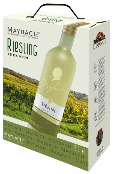 Maybach Riesling trocken 3,0l Bag-in-Box