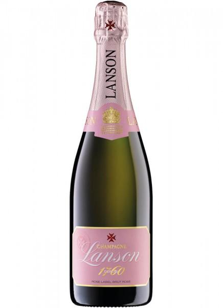 Lanson Rose Brut Champagne 12% 0,75l