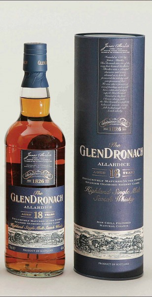 GlenDronach 18 y.o. Single Malt Whiksy