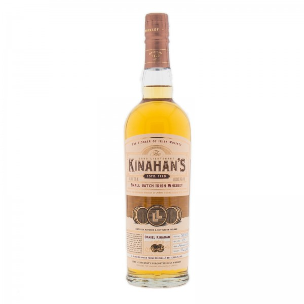 Kinahan's Small Batch Irish Whiskey 46% - 700 ml