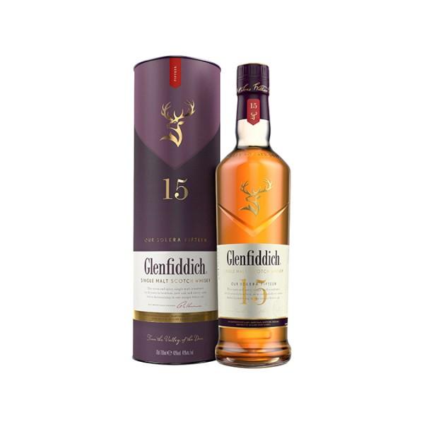 Glenfiddich 15 years Solera Vat Speyside Malt Whisky 40% 0,7l