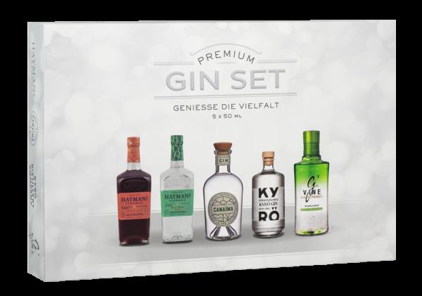 Premium Gin Tasting Set 5 x 50ml