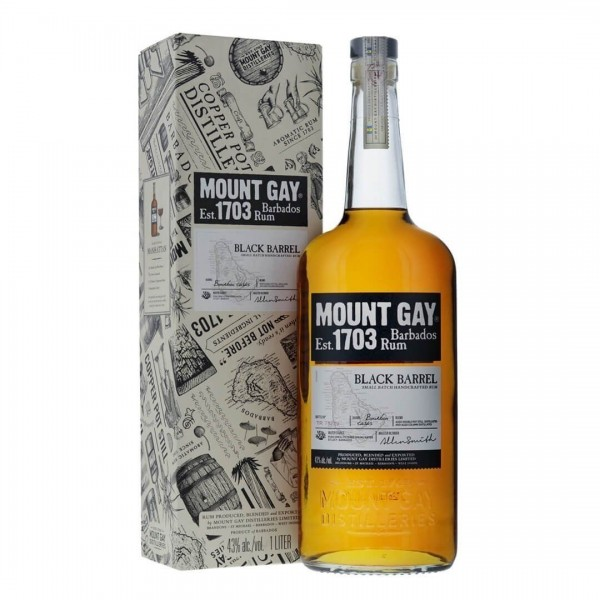 Mount Gay Black Barrel Rum 43% 0,7l