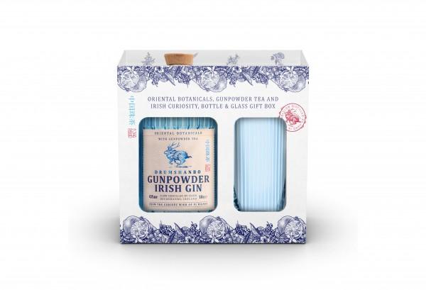 Drumshanbo Gunpowder Irish Gin 0,5l mit Glas