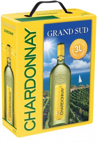 Grand Sud Chardonnay Bag In Box 3L