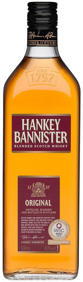 Hankey Bannister Whisky 40% 0,7l
