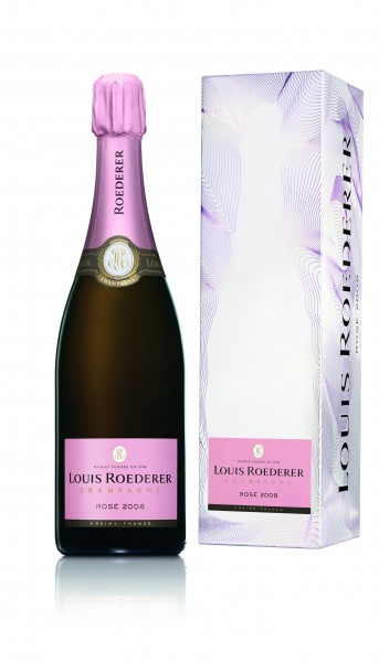 Louis Roederer Brut Rosé Champagner in Geschenkbox
