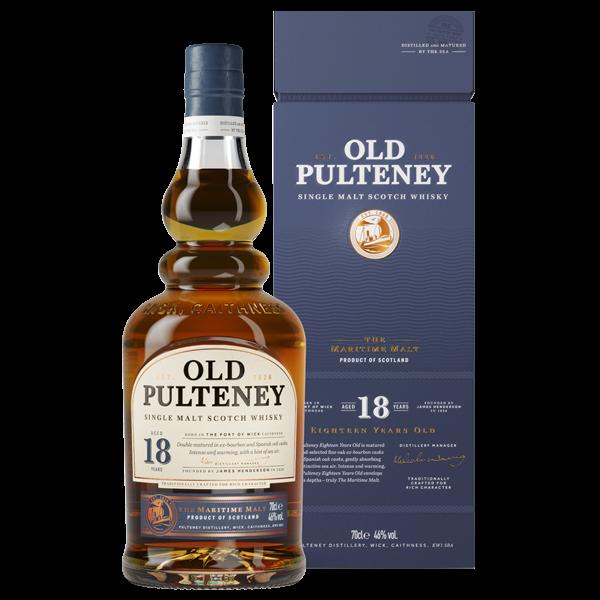 Old Pulteney · 18 Years · Single Malt Scotch Whisky 46% vol in GP (NEU)