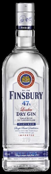 Finsbury London Dry Gin Platinum 47% 0,7l