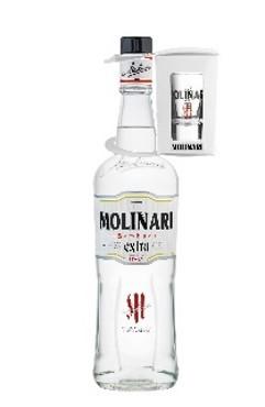 Molinari Sambuca extra mit Glas
