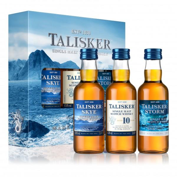 Talisker Single Malt Scotch 3x5cl Multipack