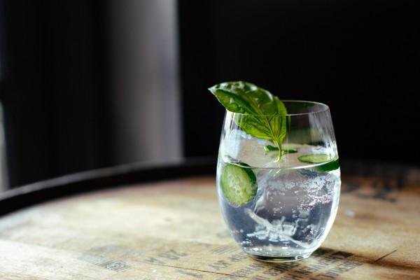 Gin-mit-Gurke
