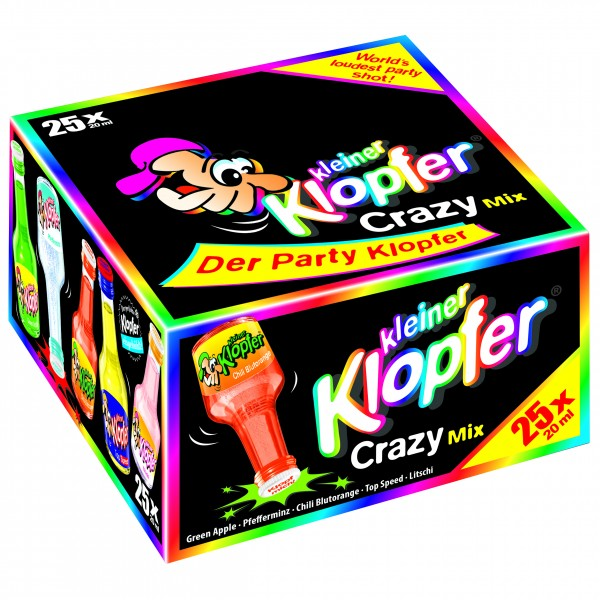 Kleiner Klopfer Crazy Mix 25 x 0,02 L