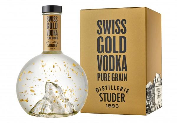 Studer Swiss Gold Gin 0,7l 40% in Geschenkpackung