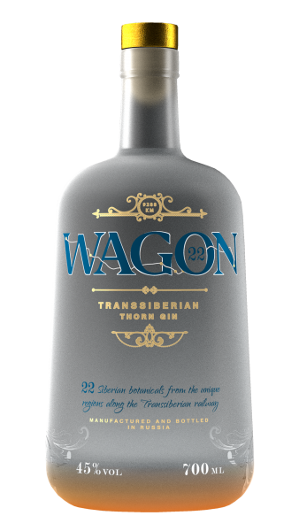 Wagon 22 Transsiberian Gin 45% vol. 700ml