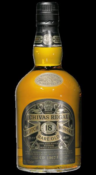 Chivas Regal 18 years Scotch Whisky 40% 0,7l