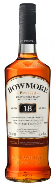 Bowmore 18 Years Old 43% 0,7l