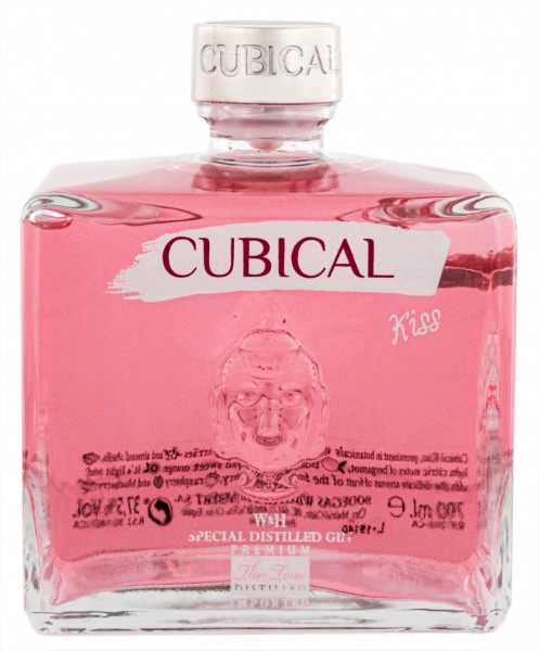 Cubical Premium Special Distilled Gin Kiss 0,7l 37,5%