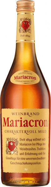 Weinbrand Mariacron 0,7l 36%