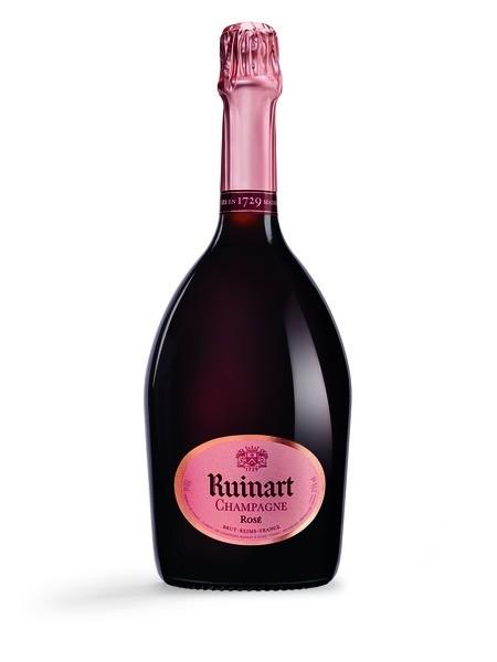 Ruinart Brut Rose Champagne 12,5% 0,75l