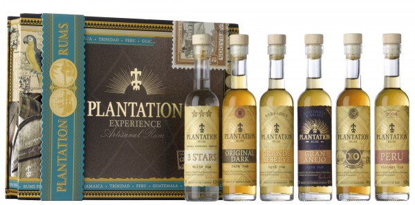Plantation Experience Box 6 x 10 cl Geschenkpackung