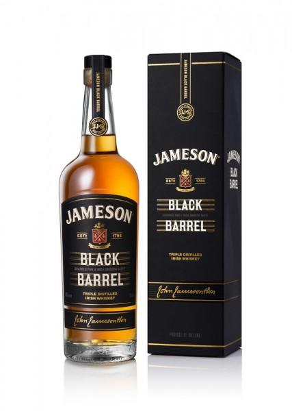 Jameson Black Barrel Irish Whiskey 0,7l 40%