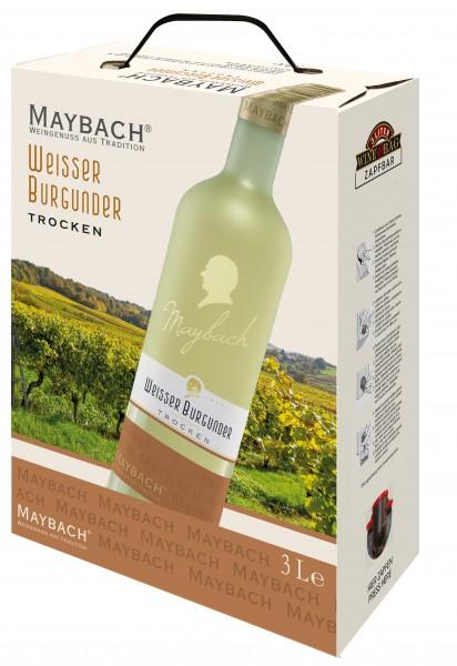Maybach Weißburgunder trocken 3,0l Bag-in-Box