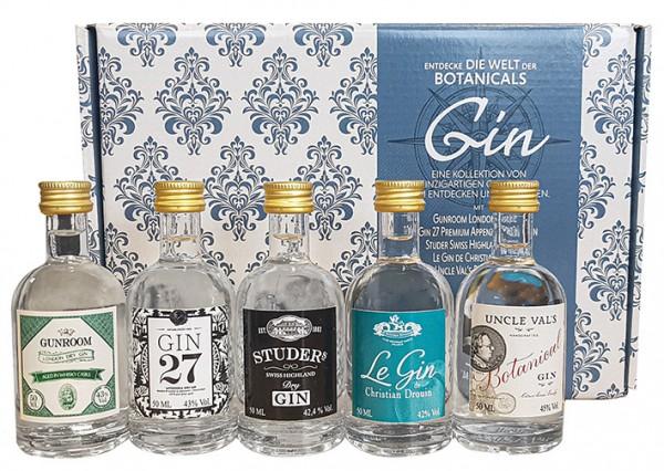 Gin Set-Entdeck die Welt in Geschenkpackung