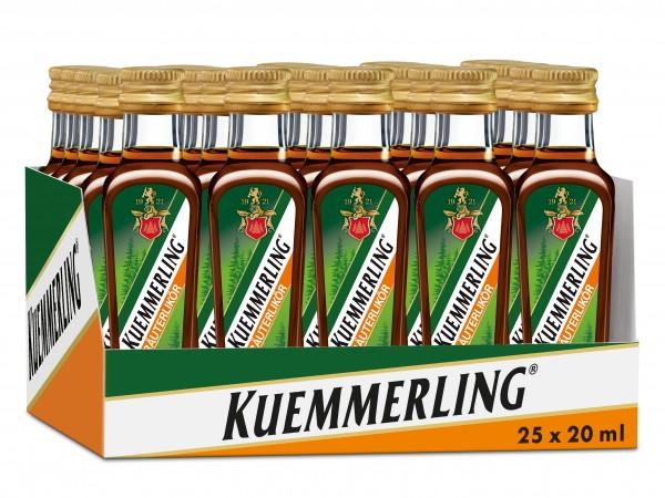 Kuemmerling Kräuterlikör 25 x 0,02 L