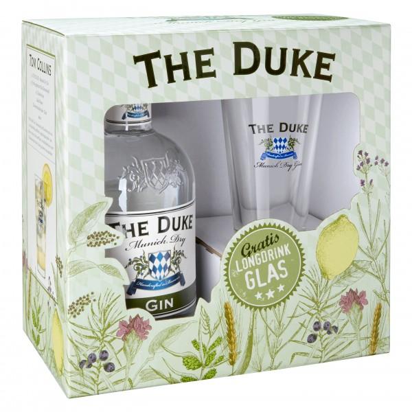 The Duke Munich Dry Gin + Longdrinkglas