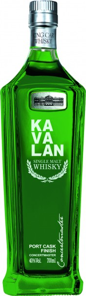 Kavalan Concertmaster Port Cask Finish 40% vol