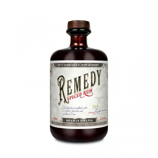 Remedy Spiced Rum 41,5% - 700 ml