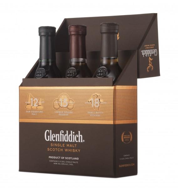 Glenfiddich 12/15/18 Tasting Set